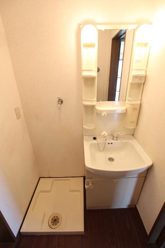 洗濯機置場+洗面化粧台